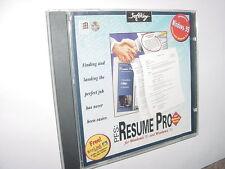 Pfs: Resume Pro - Land That Job - Windows 98 / 95 / 3.1