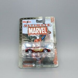 2002 Maisto Ultimate Marvel Die-Cast Collection 1 #24- Spider-Man Plymouth MOC