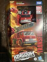 INFERNO Transformers Generations War for Cybertron Kingdom Voyager Class MIB K19