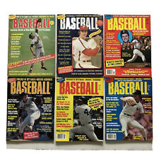 Vintage 1970`s Sports Quarterly Presents Baseball Magazine Lot  Reggie Jackson