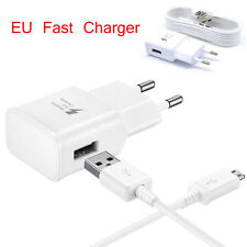 Micro USB EU Adaptateur Chargeur Rapide Chargement For Samsung Galaxy S7 S7Edge