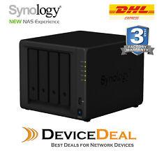Synology DiskStation DS418 4 Bay Diskless NAS Quad Core CPU 2GB RAM