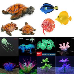 Artificial Grass Grass Jellyfish Fish Fish Tank Aquarium Ornament Decoration