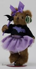 "The Bearington Collection 10"" Batty Maddie Brown Plush Bear 181322 NWT"