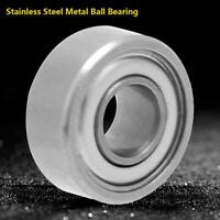 10 PCS 440c Stainless Steel Metal Ball Bearing SMR104zz MR104zz 4x10x4 mm