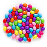 Multicolor Random Mixed Acrylic Spacer Oval Beads Jewelry Making Findings 9-12mm