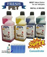 Fresh Pet SUPER CONCENTRATE 1L Doser Kennel/Cattery Disinfectant and Deodoriser