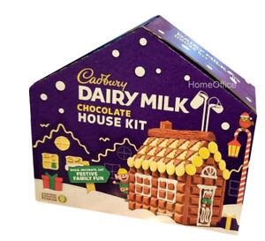 Cadbury Chocolate Build Your Own Festive Christmas House Kit Xmas 900g