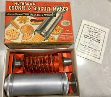 Vintage Nutbrown Cookie And Biscuit Maker