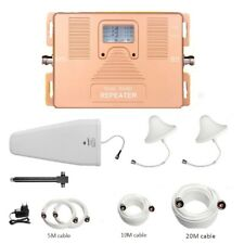 ATNJ 2G 3G 4G Signal Repeater Dual Band 850/AWS1700MHz Signal Booster for LTE4G