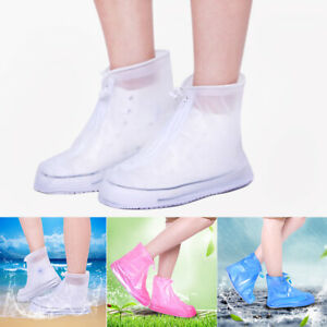 Slip-Resistant Reusable Waterproof Overshoes Protector Rain Boots Shoes Cover