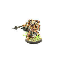 CHAOS SPACE MARINES Lord #2 WELL PAINTED Warhammer 40K