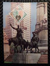 Spain MK 1966 Cervantes Don Quijote Chisciotte cavallo MAXIMUM CARD MC cm a7837
