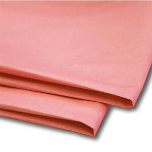 "100 Sheets Pastel Pink Tissue Paper 20"" x 30"" 500mm x 750mm Acid Free"