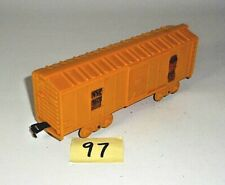 VINTAGE 1960's Marx NEW YORK CENTRAL NYC 161755 YELLOW BOX CAR O Scale 97