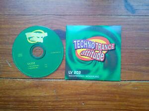 CD single TECHNO TRANCE ATTITUDE LV 202 THE EXPERIENCE WONDERLAND