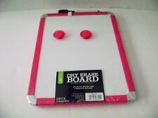 "CaseMate  Magnetic Dry Eraser Board (Pink /White) 8.5"" x 11"""