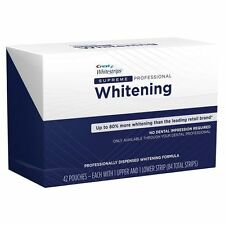 Crest Whitestrips Supreme Professional Whitening 42 Strips 21 Pouches Exp 6/2018