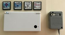 Nintendo DS Handheld System Console Bundle Lot w/ Games & Charger