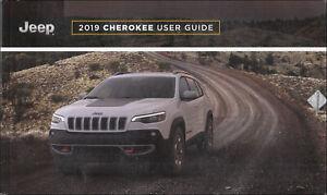 2019 Jeep Cherokee Usuario Guía Con Estuche Owners Manual Nuevo Instrucciones