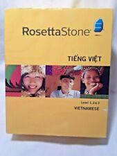 Rosetta Stone Vietnamese Level 1,2 & 3 - Older version