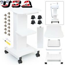 White Trolley Stand For Cavitation Rf Beauty Slim Machine Assembled Trolley Car
