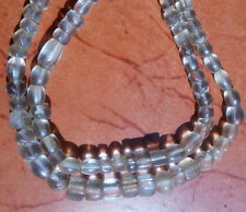 Original Ancient Quartz Crystal Bead High Quality Super Clear Beads FULL Strand