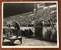 Rare Original Type 1 Photo 1948 Boston University Terriers Football Fenway Park.