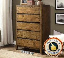 Solid Wood Rustic Dressers Chests Of Drawers Ebay