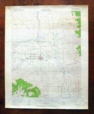 Bishop California Vintage Original USGS Topo Map 1949 Dixon Lane-Meadow Creek