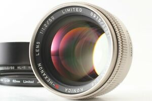【Top Mint】 Konica M-Hexanon 50mm f/2 Limited Lens for Leica M Hexar RF Japan
