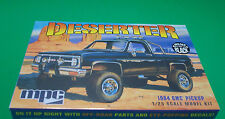 Black 1984 GMC 4x4 Pickup The Desserter 1:25 scale kit MPC Round 2 Models