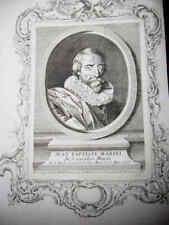 PORTRAIT XVIIIe - JEAN BAPTISTE MARINI - NAPLES - 1777*
