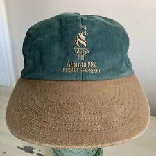 ATLANTA OLYMPICS - Vtg 1996 Buick Sponsor Green & Brown Swingster SnapBack Hat