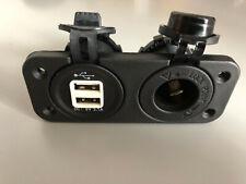 12V Car Cigarette Lighter Socket Splitter Dual USB Power Adapter Charger Uk Sell