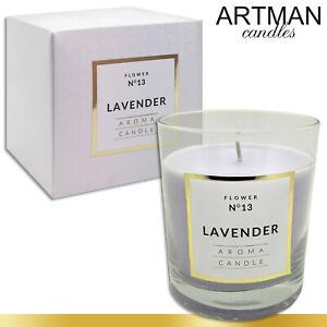 250 g Duftkerze im Glas Lavender 114 h Brenndauer Kerze Geschenk TOP Qualität