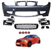 PARECHOC PARE CHOC AVANT LOOK 1M POUR BMW SERIE 1 E81 E82 E87 E88 DE 2004 A 2011
