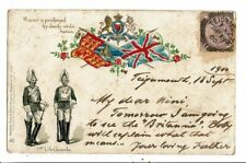 CPA-Carte Postale-Royaume Uni-1st Life Guards-Honour is puechased by deeds we do