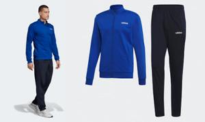 Adidas Essentials Minimalist Back To Basics Track Suit Royal Blue/Legend Ink