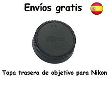 Tapa trasera objetivos Nikon