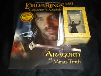 Lord of the Rings Figures - Issue 160 Aragorn at Minas Tirith - eaglemoss