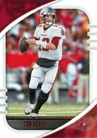 Tom Brady 2020 Panini Absolute Football Red Foil Parallel Card #42 TB Buccaneers
