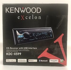 Kenwood Excelon KDC-X599 Bluetooth CD-Receiver With USB Interface