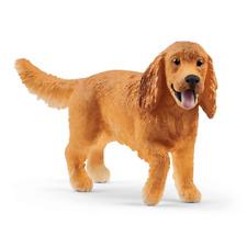 Schleich Dog English Cocker Spaniel Plastic Animal Figure New 13896