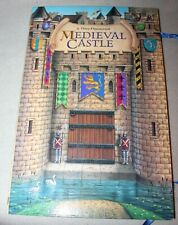 A Three Dimensional Medieval Castle with characters