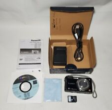 Panasonic LUMIX DMC-FH24 16.1MP Digital Camera - Black with 8GB SD, Used