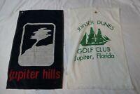 JUPITER HILLS GOLF CLUB Florida Dunes Towel lot (2) - Defects