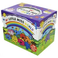 My Little Miss World 38 Books Children Collection Paperback By Roger Hargreaves