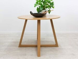 Avalon Dining Table - Natural | Scandi Round Table