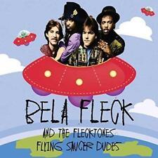 "BELA FLECK AND THE FLECKTONES �€"" FLYING SAUCER DUDES (NEW/SEALED) CD LIVE"